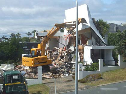 House Demolition in Gulf Harbour 3