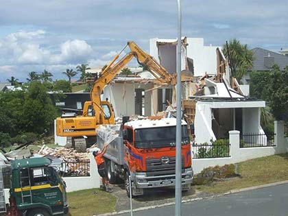 House Demolition in Gulf Harbour 4
