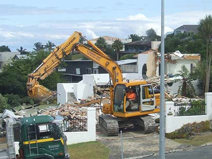 House Demolition in Gulf Harbour 5
